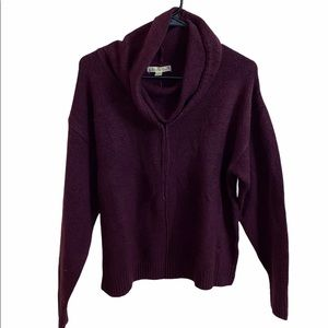 Its Out Time Cowl Neck Sweater Size Medium